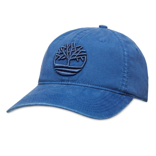 Cotton Baseball Cap for Men in Blue | Timberland
