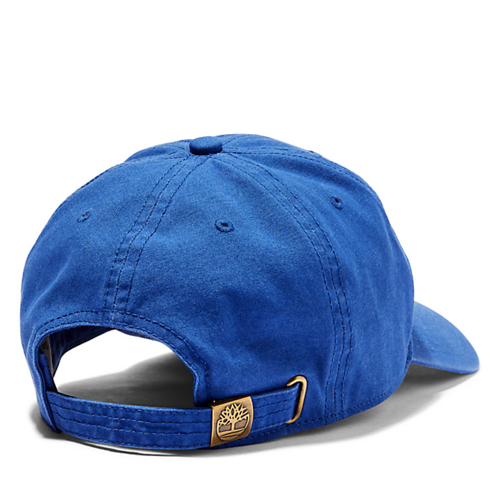 Soundview Cotton Canvas Cap for Men in Blue-