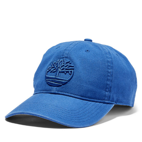 Soundview Cotton Canvas Cap for Men in Blue | Timberland