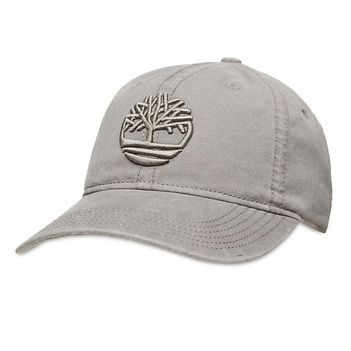 Baumwoll-Baseballcap für Herren in Grau-