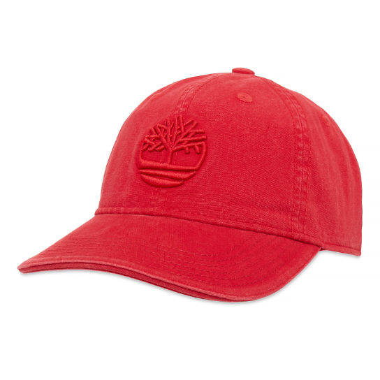 Baseball Cap Homme Rouge | Timberland