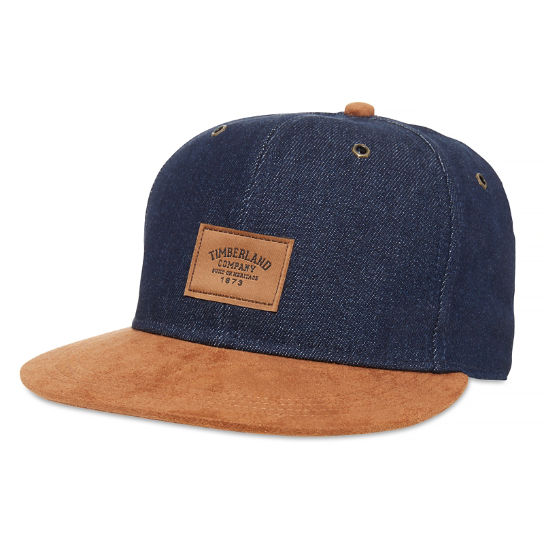 Men's Denim Cap Indigo | Timberland