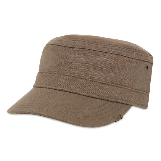 Waxed Canvas Field Cap for Men in Light Brown | Timberland