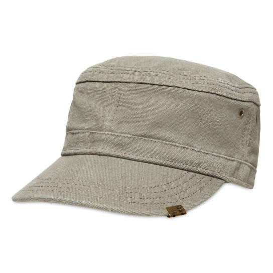 Waxed Cotton Canvas Field Cap for Men in Grey | Timberland