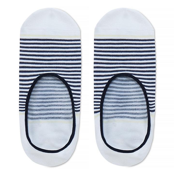 Damen Nubble Light Boat Shoe Füßlinge Navyblau-