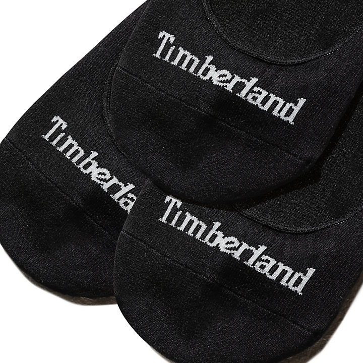 3 paires de chaussettes pour femme en noir-