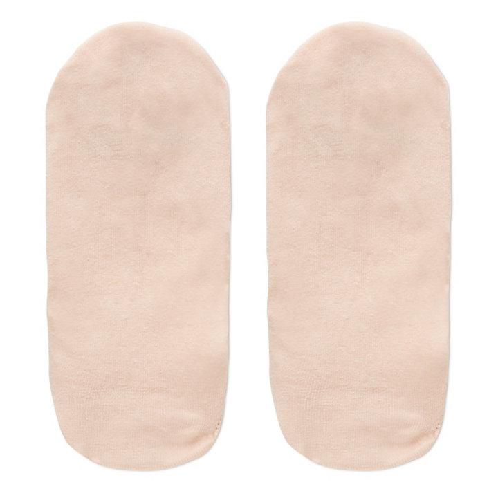 Tres Pares de Calcetines Invisibles para Mujer en Rosa/Blanco-
