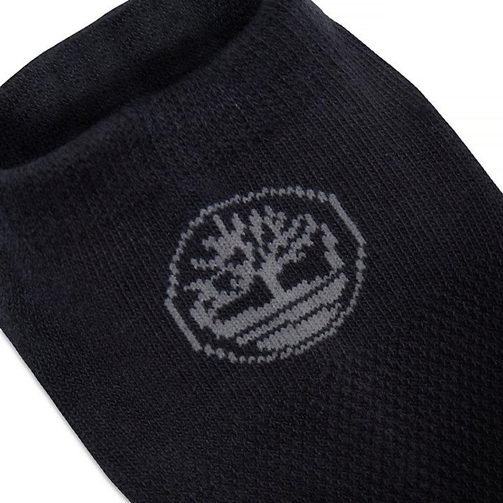 Derry Short Ankle Socks Femme Noir-