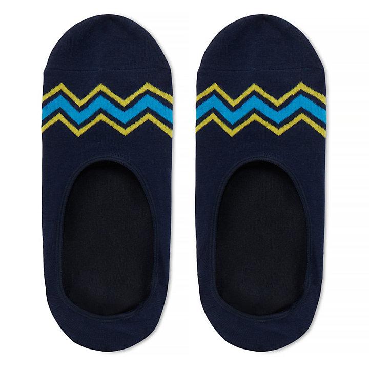 Herren Boat Shoe Liners 3 Paar Navyblau-