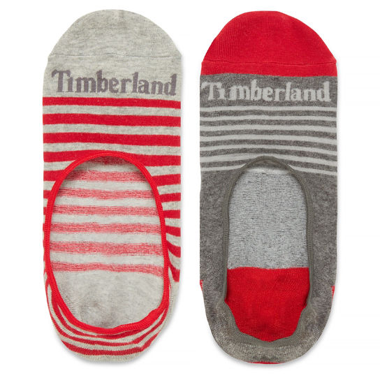 Two Pairs Paugus Bay Shoe Liners for Men in Red | Timberland