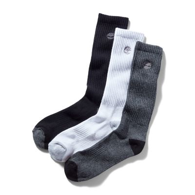 Three+Pair+Sagamore+Beach+Socks+for+Men+in+Grey