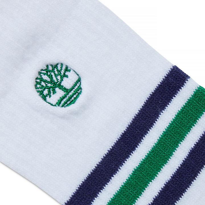 Men's Crew Socks 3 Pairs White-