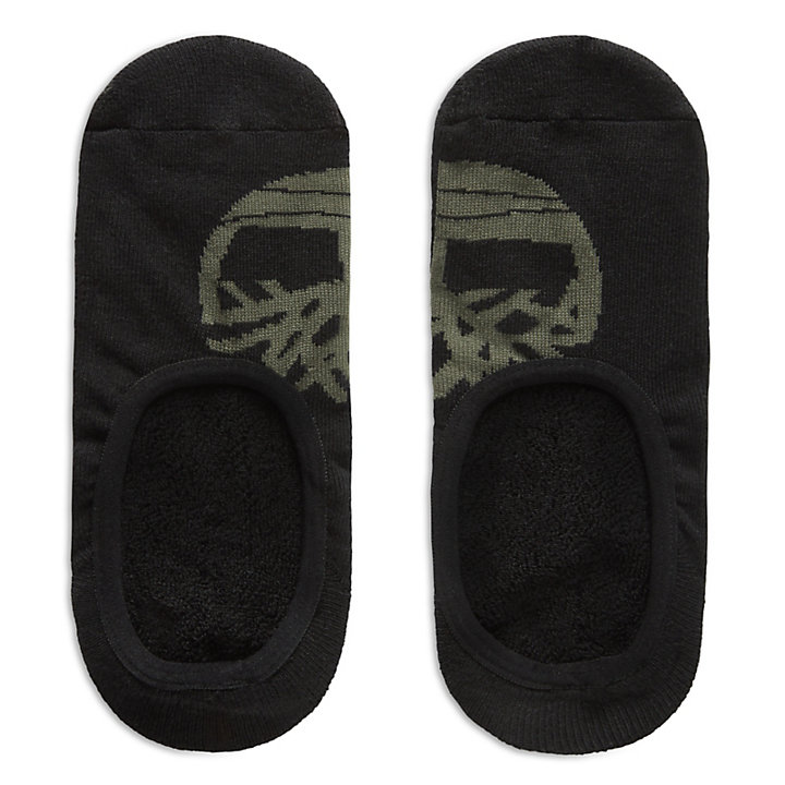 2 Pairs Shoe Liners for Men in Black-