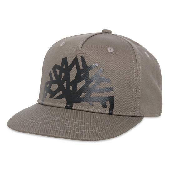 Men's Camouflage Baseball Cap Light Grey | Timberland