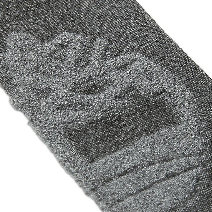 Crew-Socken aus Frottee für Herren in Dunkelgrau-