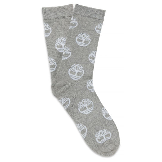 Castle Hill Crew Socks Homme Gris clair | Timberland