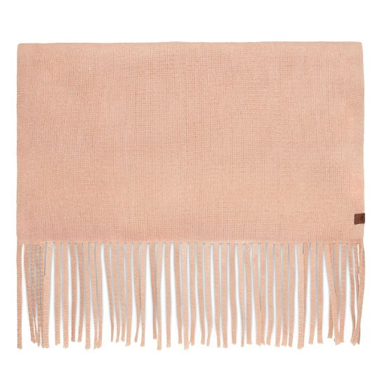Long Brushed Scarf for Women in Pink | Timberland