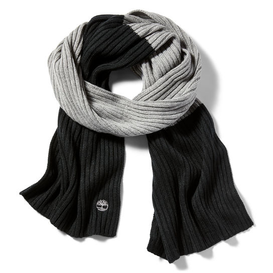 Colour Block Scarf for Women in Black | Timberland