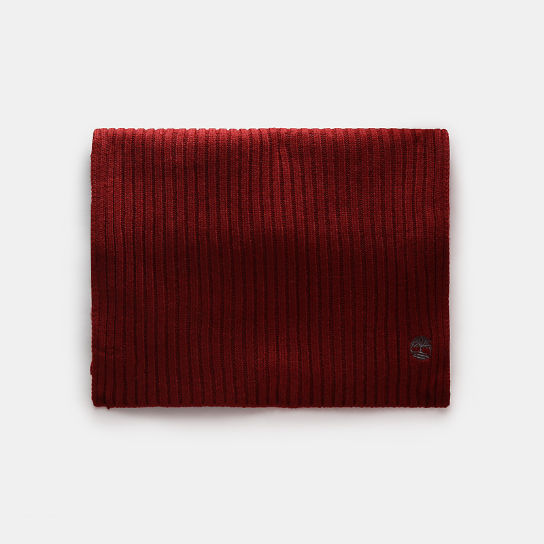 Colour Block Scarf for Women in Red | Timberland
