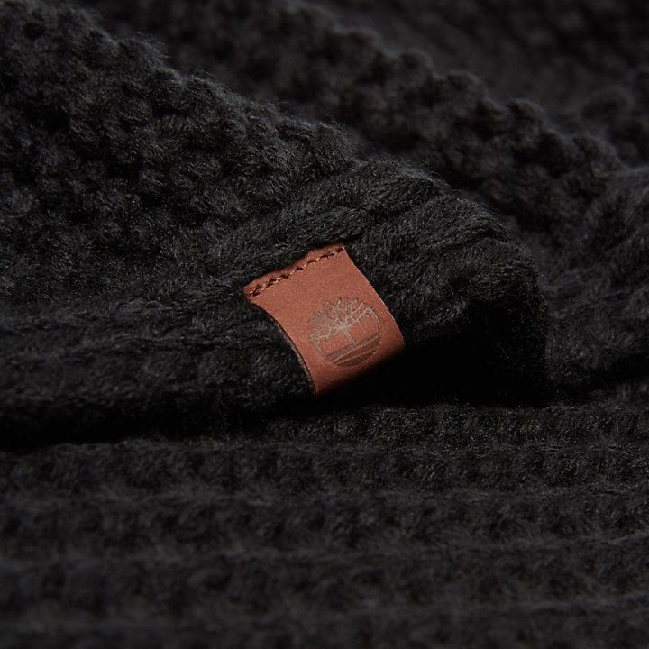 Omkeerbare Loop-sjaal voor Dames in Zwart-