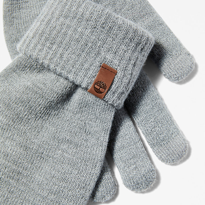 Touchscreen Gloves for Men in Grey-