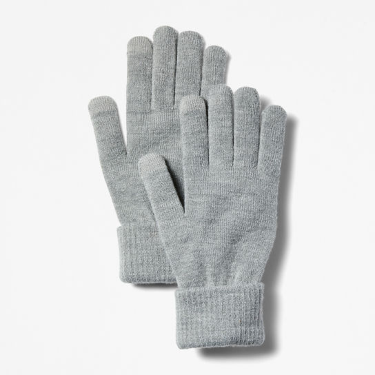 Touchscreen Gloves for Men in Grey | Timberland