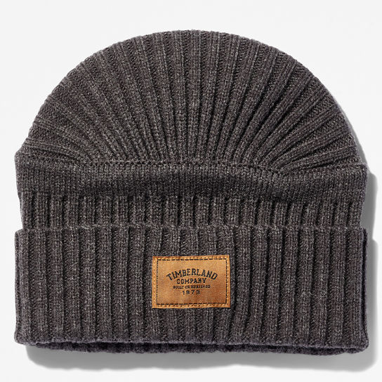 Gulf Beach Ribbed Beanie for Men in Grey | Timberland