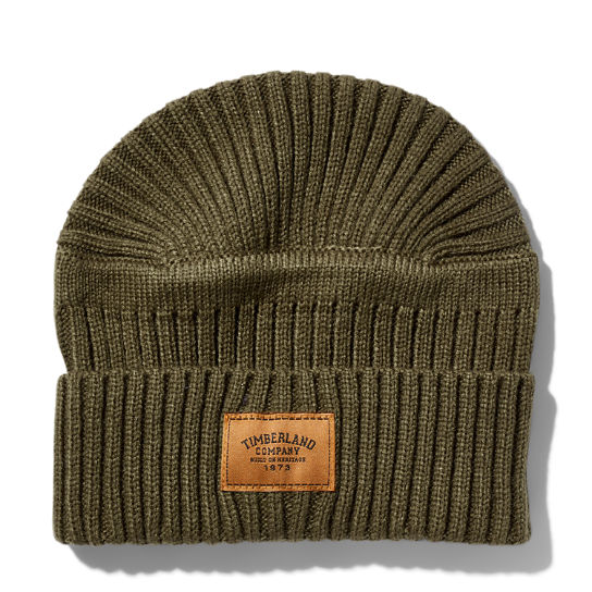 Gulf Beach Ribbed Beanie for Men in Light Brown | Timberland