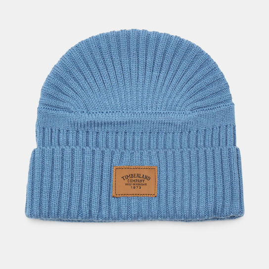 Gulf Beach Ribbed Beanie for Men in Light Blue | Timberland