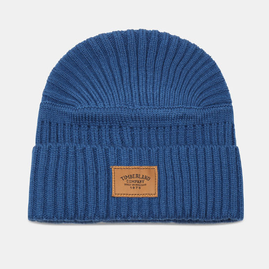 Gulf Beach Ribbed Beanie for Men in Teal | Timberland