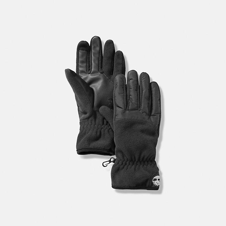Commuter Gloves for Men in Black-
