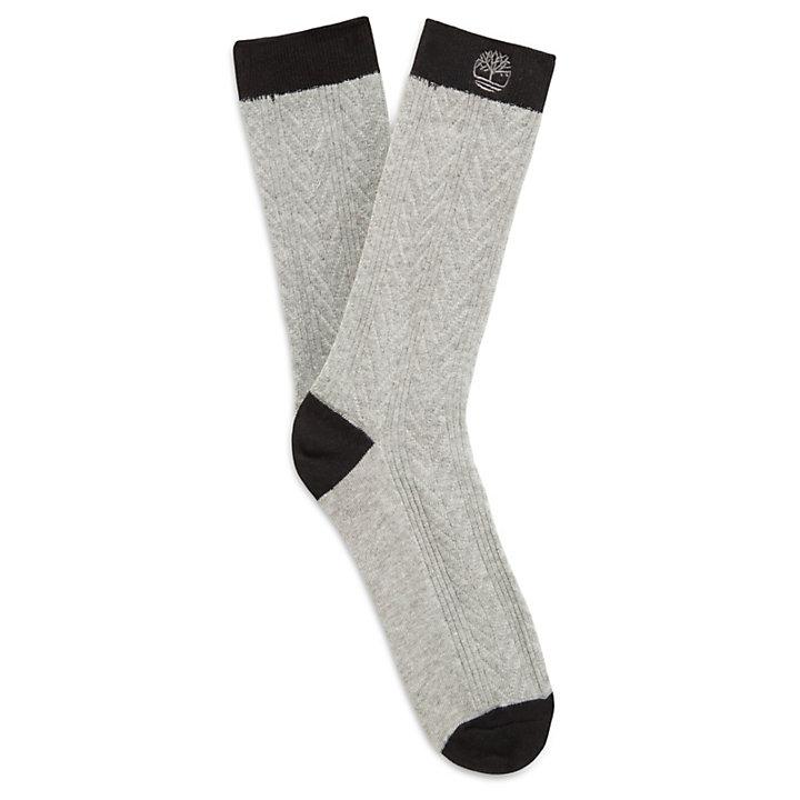 Twee Paar Sokken in Katoenmengsel voor Dames in Zwart-