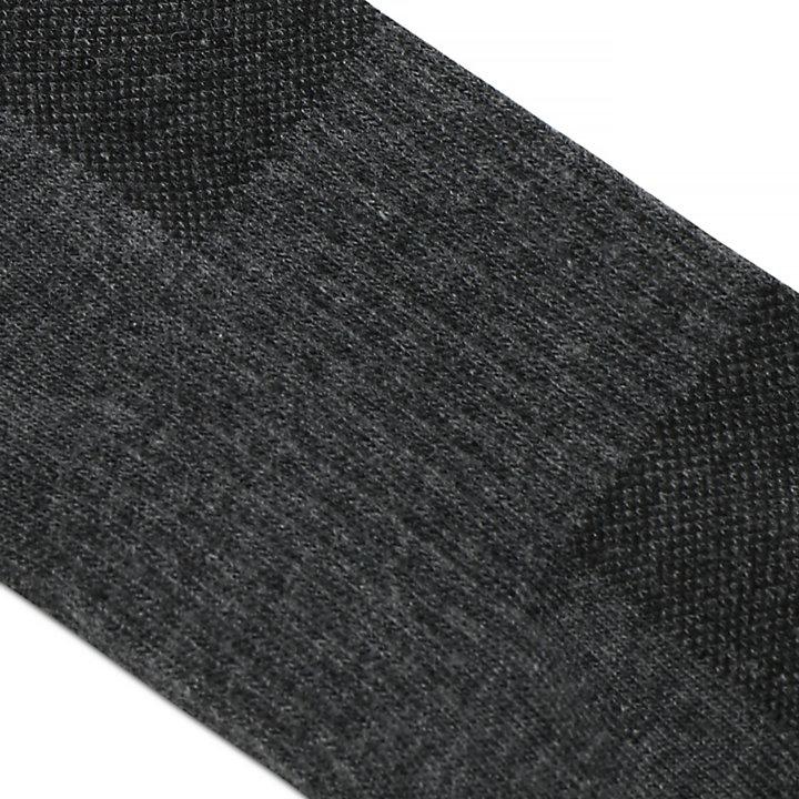 2 Pairs Crew Socks for Men in Dark Grey-