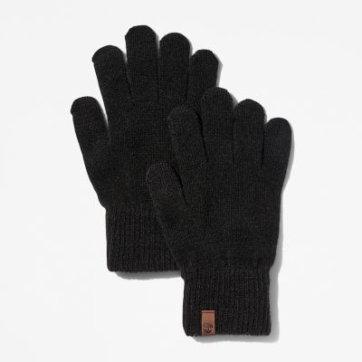 Touchscreen+Gloves+for+Women+in+Black