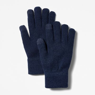 Touchscreen+Gloves+for+Women+in+Blue