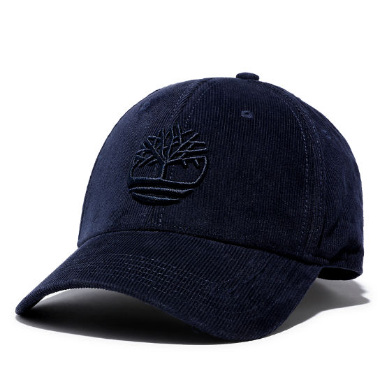 Corduroy Baseball Cap for Men in Blue | Timberland