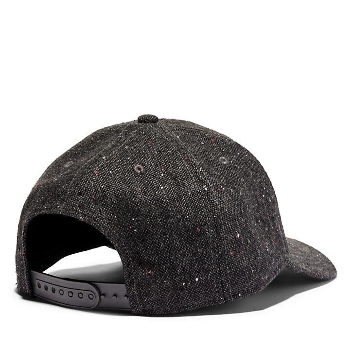 Tree Logo Baseball Hat for Men in Dark Grey-