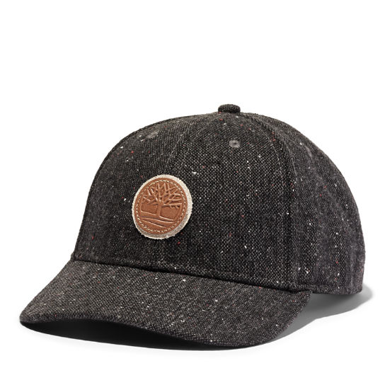 Tree Logo Baseball Hat for Men in Dark Grey | Timberland