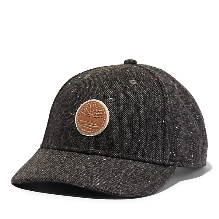 Tree Logo Baseball Hat for Men in Dark Grey-