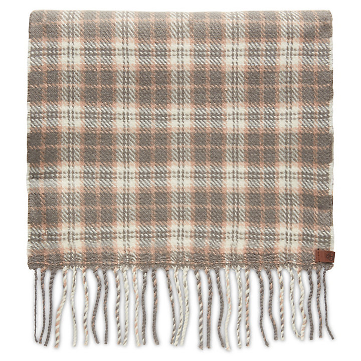 0d4758d7a6f Reversible Plaid Scarf for Women in Grey