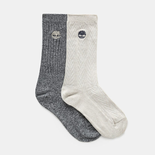 Two-Pair Socks for Women in Greige | Timberland