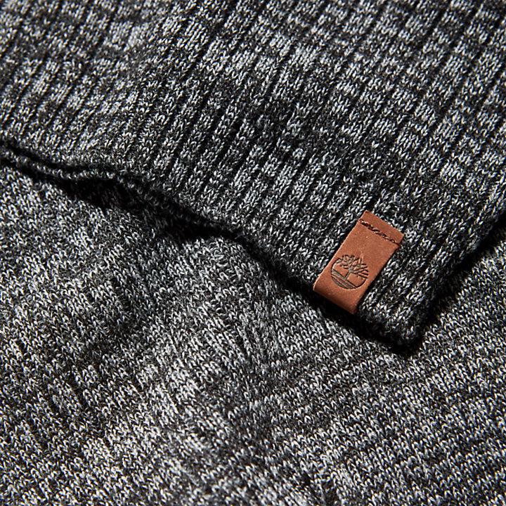 Bonnet léger ample pour homme en gris-