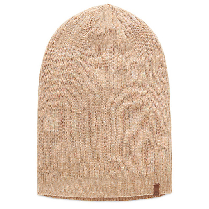 Lightweight Beanie for Men in Khaki-