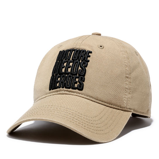 Distressed Baseball Cap for Men in Khaki | Timberland