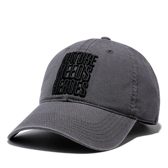 Distressed Baseball Cap for Men in Grey | Timberland