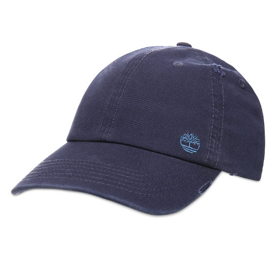 Distressed Baseball Cap for Men in Navy | Timberland