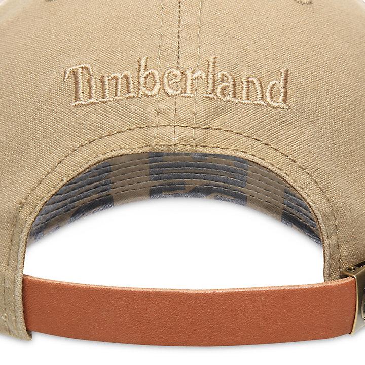 Baseballkappe im Used-Look für Herren in Kaki-