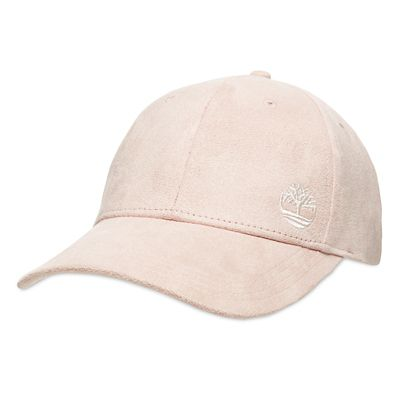 Micro+Suede+Baseball+Cap%C2%A0for+Women+in+Light+Pink