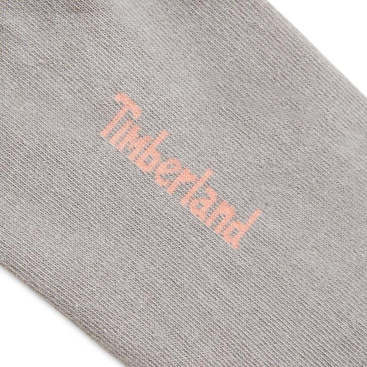 Deux paires de socquettes pour femme en gris-