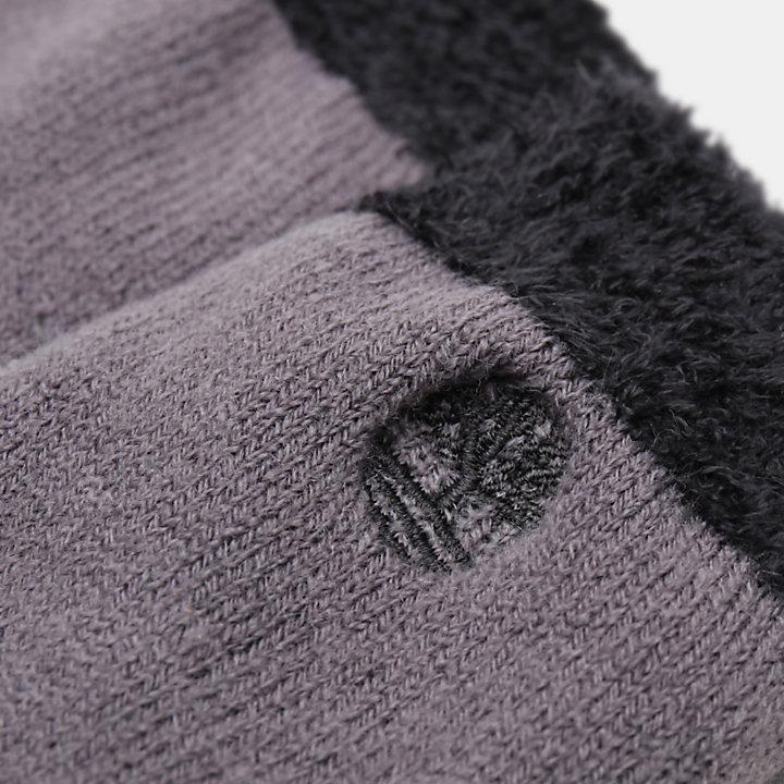 1 Par de Calcetines Gruesos de Regalo para Hombre en color negro-